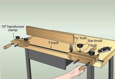 I wanted a vise on my secondary workbench, but didn't want to pony up the cash for another heavy-duty one like on my main workbench.