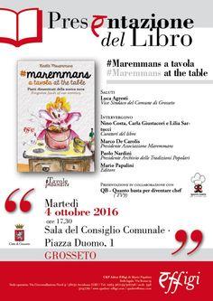 "Utilize rap! Again!: ""Maremmans a tavola"" , presentazione a Grosseto"