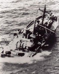 8 March 1943 the unescorted James B. Stephens (Master John Edward Green Jr.) was torpedoed by U-160 about 150 miles northeast of Durban, while steaming a nonevasive course at 11.5 knots. A torpedo struck one the port side between the #2 and #3 hatches. The explosion set the fuel oil in the double bottoms on fire and the ship settled rapidly by the bow. At 20.32 hours, a coup de grâce was fired, which struck on the port side at the #4 hatch and broke the ship in two. Both sections remained…