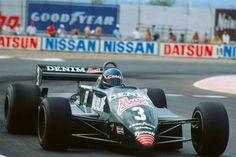 Michele Alboreto Tyrrell 011 Las Vegas 1982 Winner