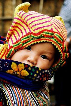 vietnam portrait bébé  by ichauvel, via Flickr