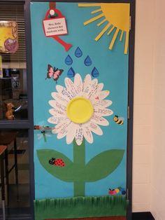 Classroom Door- Teacher Appreciation Week- Daisy
