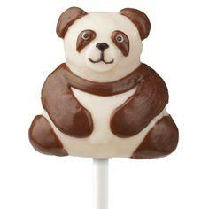 Panda Bear Cake on a Stick