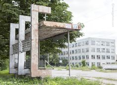 Herwig Photo » Soviet Bus Stops