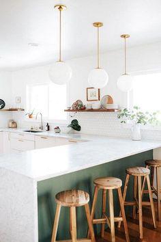 57+ Amazing Scandinavian Kitchen Decor Ideas #scandinaviankitchen #kitchendecor #kitchendecorideas