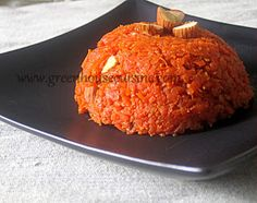 Greenhouse cuisine: Microwave carrot halwa/pudding-low fat recipe