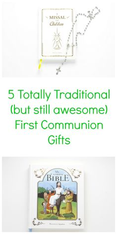 Five Totally Traditional (but still awesome) First Communion Gifts First Communion Gifts, Catholic Kids, Spiritual Gifts, Religious Gifts, Be Still, Gift Guide, Boy Or Girl, Religion, Birthdays