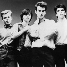 The Smiths ― photo by Eric Watson (1984).
