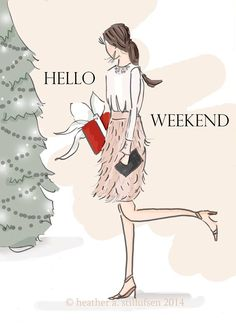 Love weekends ❤️ esp Christmas