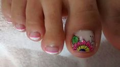 Cute Toe Nails, Cute Toes, Toe Nail Art, Hello Nails, Cute Pedicures, Summer Toe Nails, Manicure And Pedicure, Nail Art Designs, Nail Polish