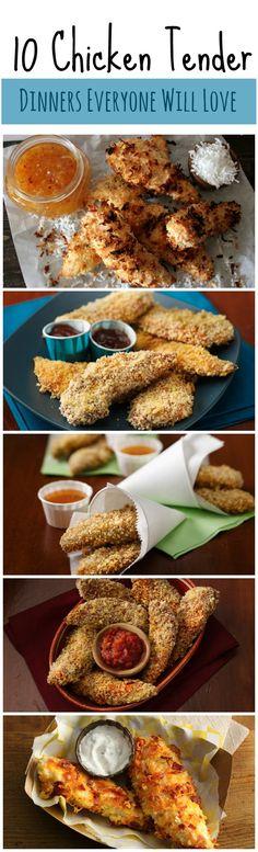 10 quick must-make weeknight chicken dinner ideas!