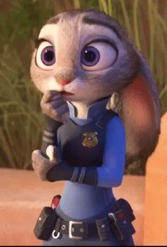 Judy Hopps nervous