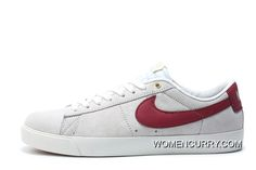 df04f879dbc6 Nike SB Blazer Low GT Women Men White Red 704939 Super Deals