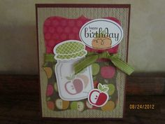 PERFECTLY PRESERVED APPLES SUO ma by Maryalsostamps - Cards and Paper Crafts at Splitcoaststampers