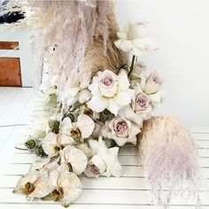 We're so excited to be part of Sunday's Mothers Day lunch. All proceeds going to breast cancer awareness and we get to… Flower Bomb, Pampas Grass, Boho Bride, Breast Cancer Awareness, Floral Wedding, Flower Arrangements, Wedding Ceremony, Sassy, Florals