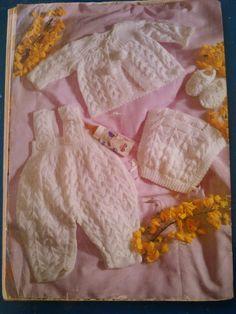Receita de Tricô: Casaquinho de bebê - receita