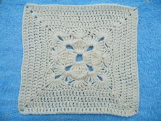 Ravelry: Maryfairy's Granny Square 1 for Cream Afghan II