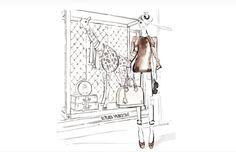 Del ON al off con las paperdolls de Louis Vuitton