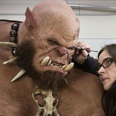 More incredible images of @wetaworkshop's 'Orgrim' sculpture for the upcoming World of Warcraft movie, you already know the effects in this film are going to be mind blowing! -- #worldofwarcraft #wow #mmo #gamer #orgrim #weta #wetaworkshop #sculpt #artist #ork #orc #movienews #behindthescenes #vfx #spfx #sfx