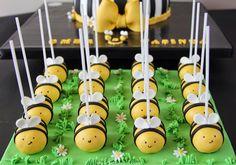 Maya the bee cakepops, bee cakepops
