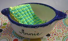 Tricot & crochet: Éponge/lavette/tawashi au tricot