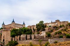 Toledo Spain outside the wall... Dream Destination.. imagine spending a week here with a few really good books?! carissa rogers goodncrazy