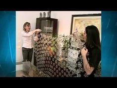 Aprenda a fazer cortina de garrafa PET