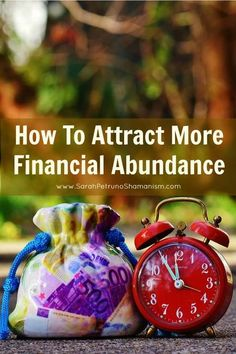 The first steps you need to take to attract financial abundance into your life. Via Sarah Petruno Shamanism Law Of Attraction Money, Attract Money, Financial Tips, Book Of Shadows, Money Matters, Way Of Life, Self Improvement, Self Help, Abundance