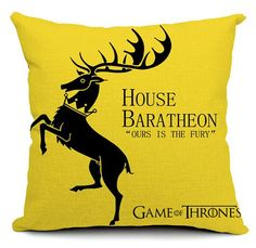 Game of Thrones pillow covera song of ice and fire by acsoul
