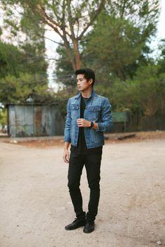 Top Asian Male Fashion Blogger - Peter Adrian Sudarso Pacsun Denim Jacket