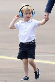 Air Commodore Dawn McCafferty said she has hopes George will become an air cadet 'in about...