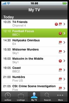 Using the Sky+ app on my iPhone means I can record programmes even when I'm not home #ChannelLift