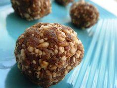 Cinnamon Almond Raisin Balls