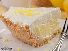 Lemon Crunch Pie - A wonderfully sweet pie #recipe for the weekend!