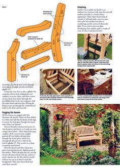 Garden Bench Plans - Outdoor Plans