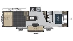 2017 Carbon 35 Floor Plan