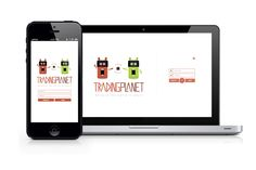 Tradingplanet - The Trading site by Marvin Schirrmacher, via Behance
