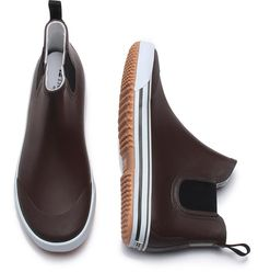 Men's Rain Boots - Sale on Now Mens Rain Boots, Tech Accessories, Chelsea Boots, Slip On, Guys, Brown, Sneakers, Guy Shoes, How To Wear