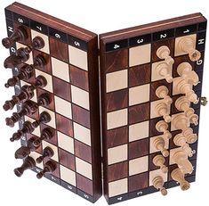 Square - Echecs en Bois - MAGNETIQUE - Échiquier & Pièces d'échecs: Amazon.fr: Jeux et Jouets Square, Wine Rack, Ebay, Storage, Amazon Fr, Decor, Wooden Chess Board, Wooden Ice Chest, Gaming