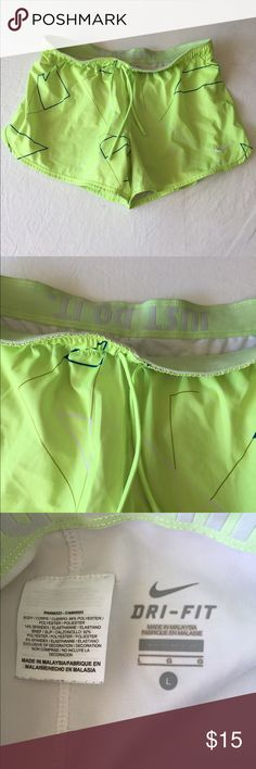 Nike running shorts - with shorts as inner lining PLEASE NO TRADES! NO P PA L! NO MRCRI! I am very open to offers but please remember to be reasonable. If you would like discounted shipping just let me know in the comments below so i can lower the price by 10%. I have a bundle discount too for more savings. go ahead and send an offer i dont bite! 😁 Nike Shorts
