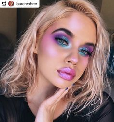 #Repost @laurenrohrer •  •  • #lips  @incrediblecosmetics Lip Trippin in Friyay Feelin + In A Dream World gloss in Rainbow Hooves & Crazy Moves on top. I LOVE this combo! Available now at Sephora.com or incrediblecosmetics.com #beyourincredibleself  #urbandecay Heavy Metals Eyeshadow Palette  #sugarpill Poison Plum Eyeshadow  #limecrime Diamond Dew in Tearful + Mermaids Hi-Lite Palette  #benefit Brow Zings