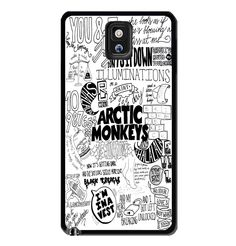 Arctic Monkeys collage lyric cute Samsung Galaxy S3 S4 S5 Note 3 Case