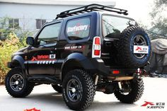 Jimny rear bumper with tyre carrier -in Bumpers from Automobiles & Motorcycles on Aliexpress.com | Alibaba Group