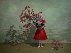 Little Salome Playing, Jana Brike