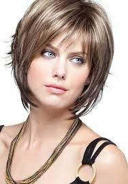 Image result for picture of short layered bobs on over age 50