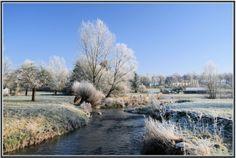 Winterlandschap te Gulpen