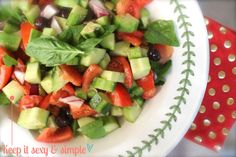 ::I am an expert on salads and salad dressings. Click here for my recipe for the best and easiest salad I have ever made. Who needs 2 million ingredients for a salad? Not I::