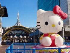 Four story indoor theme park with a huge Hello Kitty balloon infront of the entrance....must do!!!!!
