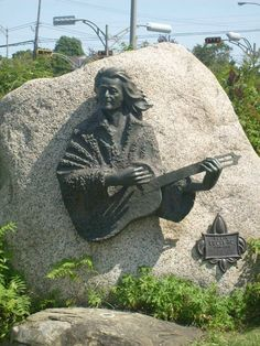 Félix Leclerc  Île d'Orléan, Québec