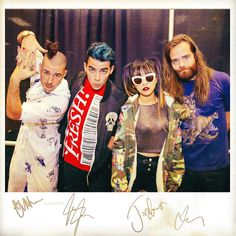 I want an autographed pic of DNCE!!!! ❤️❤️❤️❤️